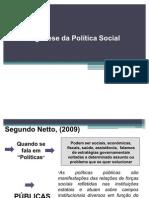 Politica Social Origem