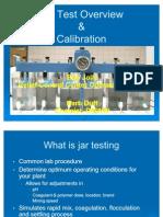 Jar Test Overview Calibration