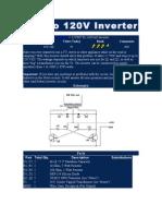 12V to 120V Inverter