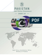Pakistan Fiscal Policy Statement 2009 10