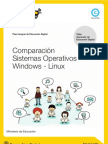 Comparación Sistemas Operativos Windows - Linux