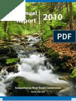 SRBC 2010 Annual Report