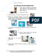 Discontinuing Parenteral Solution Administration