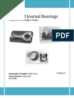 Design of Journal Bearings