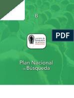 PLAN NACIONAL DE BÃSQUEDA DE PERSONAS DES