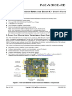 PoE Voice Transmission Reference Design Kit User's Guide