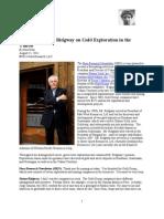 Simon Ridgway on Gold Exploration in the Yukon