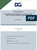Ponencia de Equipos Fiscales Agosto 2011