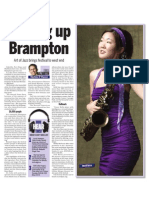 Aug, 12, 2001 - Brampton Jazz & Blues Festival