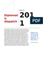 Report of Local Elections in Al. Diplomatic Dispatch