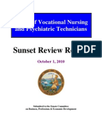 Sunset Board Voc Nursing