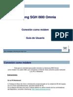 Samsung SGH i900 Omnia - Conexión como modem