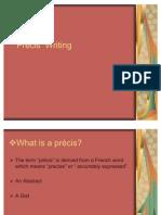 Précis  Writing