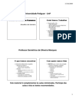 Projeto Interdisciplinar I - Aula 16-10-2009