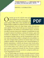 CÂNDIDO, A. O direito à literatura