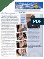 July 25, 2011 Newsletter