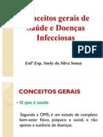 CONCEITOS GERAIS SOBRE SAÚDE E DOENÇAS INFECCIOSAS