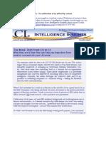 2008 Mindshift to Competitive Intelligence