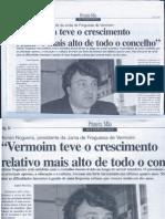 jornal Primeira Mão 2 de Novembro de 2001
