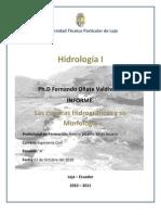 Las cuencas hidrográficas y su Morfología - Henrry Rojas Asuero