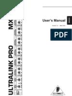 Behringer Ultralink Pro