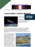 Laserwaffen werden Realität