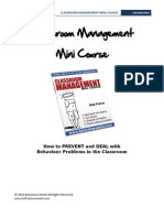Classroom Management Mini Course Intro