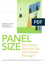 Aafp Patient Panel Size 2007
