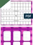 Cahier de Planification Horaire