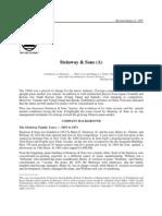 STEINWAY Case Study 97.01.24 - Stern