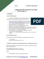 Gs Cfg Gen User Guide
