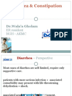 Diarrhea & Constipation