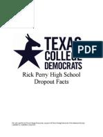 Dropout Rates Facts