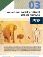 dimensiòn social y cultural del ser humano