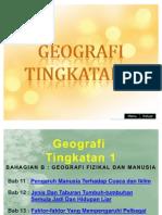Geografi Tingkatan 1 (Bab 11-17)