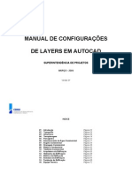 MANUAL DE CONFIGURAÇÃO DE LAYERS - CIVIL