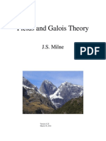 Field and Galois Theory - J.S. Milne
