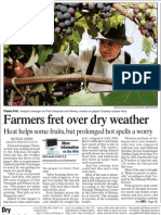 Farmers Fret Over Dry Weather