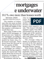 Fewer Mortgages In State Underwater