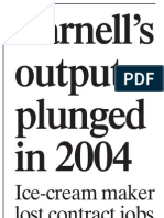 Yarnell's Output Plunged In 2004