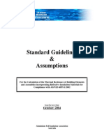 Afia Assumptions Guideline March 2005