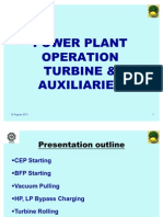 Turbine Operation