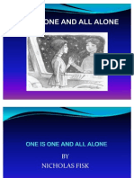 SHORT STORY Form 2 - One is One and All Alone