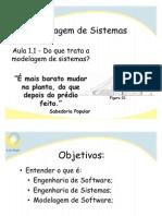 Cap1 - Introdução a eng. de softwre, modelagem de sistemas e requisitos final