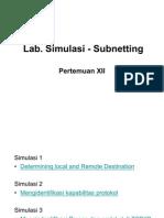 Pertemuan 12 - Lab Simulasi-Subnetting