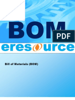 Bom Bill of Material Eresource