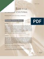 Edward Said y La Otredad Cultural