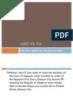 LIAO VS CA