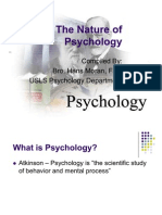 Chap 1 - The Nature of Psychology