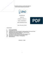 Silabo Cirugia 2011-II Definitivo